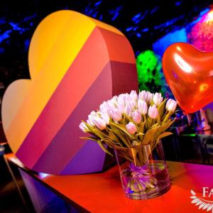 Цветное сердце