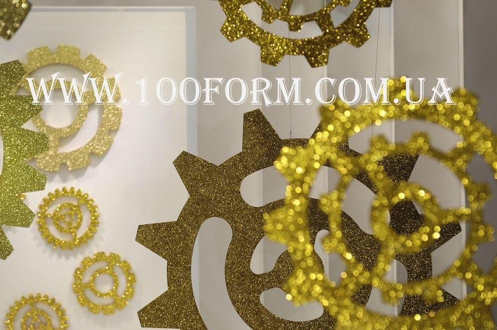 новогодний декор из пенопласта