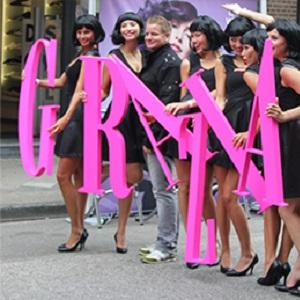 пенопластовые буквы розовые