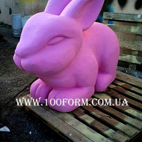 Муляжи из пенопласта кролик