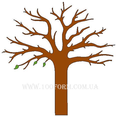 дерево из пенопласта