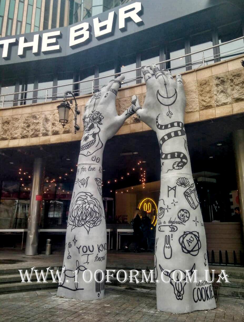 Скульптуры из пенопласта Киев