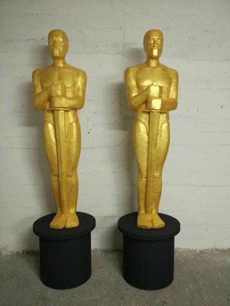 Оскары из пенопласта