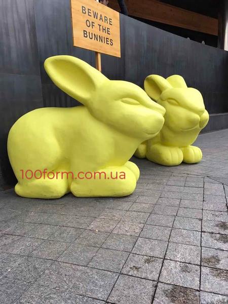 муляж кролик пенопласт