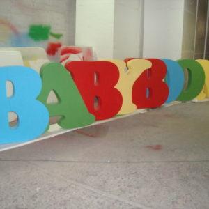 Буквы разноцветные
