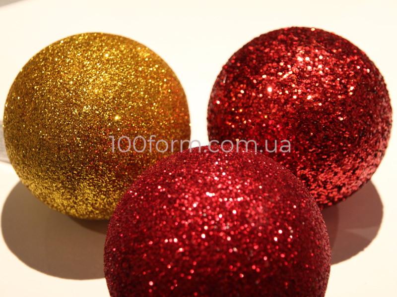 шары новогодние из пенопласта
